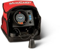 """Marcum VX-1 Pro Ice Fishing Sonar System / Flasher - VX-1P by MarCum. $279.95. From the Manufacturer                The longtime industry standard, high-level sonar engineering personified. Marcum calls it """"total system performance."""" Not just the highest output power in its class, but intelligently managed wattage that works in concert with acute, precision tuned transducers and operating systems. The result is an elite-grade flasher unit that employs TrueColor"""