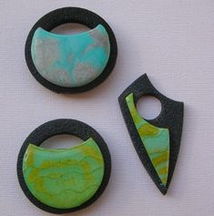 Lovely pendants by Arliane, France