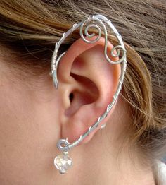 I personally wouldn't wear it, but HA--that's awesome!! More power for those who would! Elf Ear Cuffs