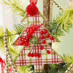 brico avec du papier: décoration de Noël pour le sapin