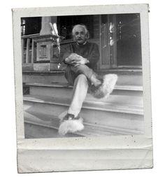 Albert en pantoufle