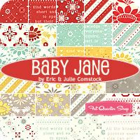 Baby Jane Fat Eighth Bundle Eric and Julie Comstock for Moda Fabrics - Fat Quarter Shop Love this collection