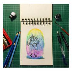 """下雨天在家畫畫不然要幹嘛 Water painting at home especially that god damn raining day #watercolor #waterpaint #graphicdesign #graphic #instapic #instapainting #instadaily #instadraw #mondaynight #vscocam #vscopic #vscodraw #vscodaily #laimo #cutetoy #picoftheday #iphone6plusonly by nakedself Follow """"DIY iPhone 6/ 6S Plus Cases/ Covers/ Sleeves"""" board on @cutephonecases http://ift.tt/1kAxdjF to see more ways to how to custom your text add #Photography #Photographer #Photo #Photos #Picture #Pictures…"""