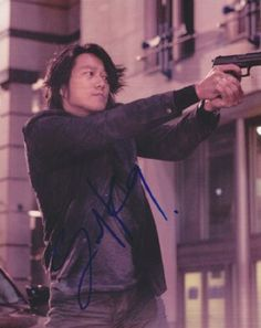 Sung Kang Autographed Signed 8X10 Photo COA 'Fast & Furious'