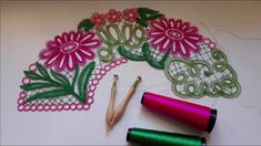Point Lace, Bobbin Lace, Lace Flowers, Embroidery Designs, Christmas Ornaments, Sewing, Holiday Decor, Crochet, Floral
