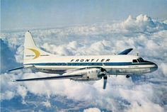 Frontier Convair CV-580 -- Gregory A Lincoln