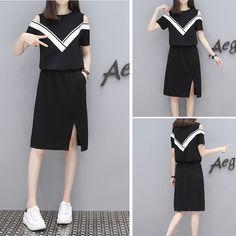 여름 2017 패션 드레스 여성 새로운 슬림 거짓이 끈 반소매 허리 분할 치마와 긴 섹션