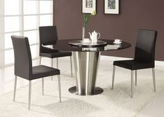 Round Dining Table For 6 Dining Table Round For Contemporary With Modern 6 ~ Nrd Homes