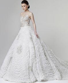 Rani Zakhem Wedding Dresses 2014 Collection - MODwedding