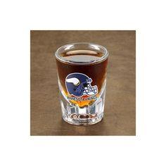 Personalized Set of 4 NFL Shot Glasses