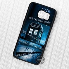 Sherlock Tardis Doctor Who Harry Potter Quote - Samsung Galaxy S7 S6 S5 Note 7 Cases & Covers