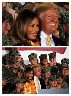 Donald And Melania Trump, First Lady Melania Trump, Donald Trump, Malania Trump, Trump One, Melania Knauss Trump, Trump Is My President, Greatest Presidents, We The People