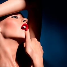 Ginta Lapina for NARS Cosmetics Summer 2012 campaign by François Nars