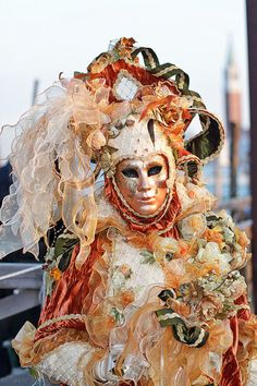 Carnival of Venice, Italy, Carnevale di Venezia, outstanding costumes and masks