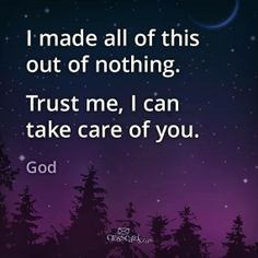 .... Trust me, I can take care of you!!!