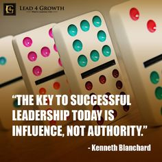 """The key to successful leadership today is influence, not authority."" #quote #leadership #lead4growth"