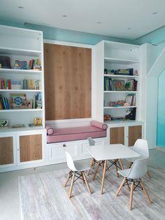 Playroom, Corner Desk, Furniture, Home Decor, Corner Table, Game Room Kids, Game Room, Playrooms, Interior Design