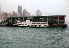 The Star Ferry terminal, Honk Kong