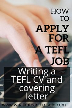 What to include in a TEFL covering letter or c.v to apply for a TEFL job abroad, and more importantly, what not to include! International Teaching Jobs, Online Teaching Jobs, Teaching English Online, Teaching Tools, Cover Letter Teacher, Writing Jobs, Writing Skills, Essay Writing, Teaching Interview