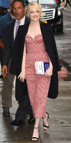 Look of the Day - EMMA STONE from InStyle.com