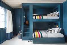 "Upgraded Kids' Spaces - ""It's amazing how a whimsical built-in bunk bed or a chic mix of patterns in a playroom can unlock the creative minds of children and parents alike. Our little ones need beautiful, thoughtful and stimulating design too!""—Shannon Wollack and Brittany Zwickl, Studio.Life.Style"