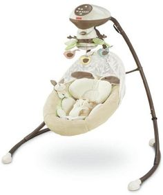 Fisher-Price My Little Snugabunny Cradle 'n Swing: http://www.amazon.com/Fisher-Price-Little-Snugabunny-Cradle-Swing/dp/B0042D69WY/?tag=httpbetteraff-20