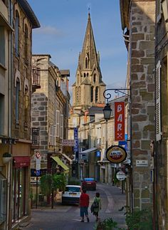 Brive-la-gaillarde, France- where I was born