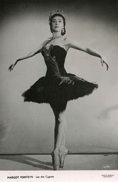 My inspiration. Flat feet like mine but still became a pro. 1938 - as the Black Swan in Swan Lake.