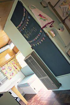 Originate and Renovate: Vintage Camper Cute Chalkboard!