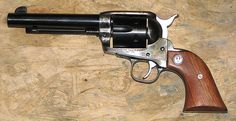 I love my Ruger Vaquero in 45 caliber long colt. Wonderful single action cowboy gun.