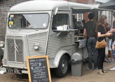The Citroen HY Van, although usually used as some sort of mobile store... I'm sure it would make a great camper!