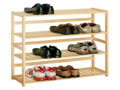 Homemade Shoe Rack Chic DIY Shoe Cabinet