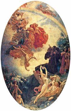 "Herbert James Draper, ""Prospero Summoning Nymphs and Deities"" by sofi01, via Flickr"