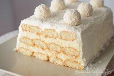 Vanilla Cake, Chocolate Cake, Tiramisu, Baking Recipes, Oreo, Food And Drink, Ice Cream, Sweets, Cakes