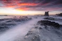 Stormy Sunrise by Jason  Crowell Photographics, via 500px