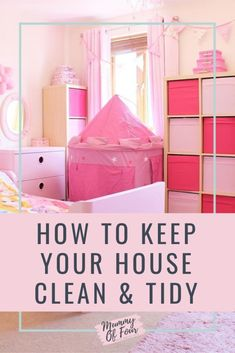 Want to know how to keep your home clean and tidy when you have kids? Check out the video below or keep reading for my . Cleaning Checklist, Cleaning Hacks, Cleaning Schedules, Cleaning Recipes, Arm And Hammer Super Washing Soda, Laundry Solutions, Apartment Cleaning, Speed Cleaning, Best Cleaning Products