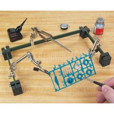 Give your model the right support with mini clamps from Micro-Mark. Explore our high quality selection of small clamps, including woodworking clamps for all of your project needs. Impression 3d, Dremel, Airbrush Spray Booth, Hobby Desk, Hobby Tools, Soldering Tools, Modeling Techniques, Modelista, Woodworking Clamps