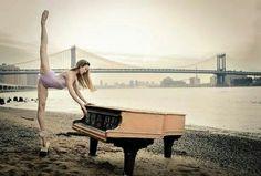 danc, stuck, ballet, photo