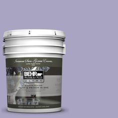 BEHR Premium Plus Ultra 5-gal. #640D-4 Canyon Mist Semi-Gloss Enamel Interior Paint