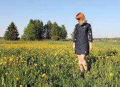 MMMay day 30, sewn dress Coat, Diy, Vintage, Dresses, Fashion, Vestidos, Moda, Sewing Coat, Bricolage