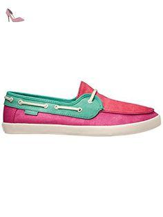 promo code dc34f 1fbd8 Vans Chauffette Womens Slip On Shoes EUR 39 Tri Tone Fuchsia Purple Bermuda  Teaberry - Chaussures