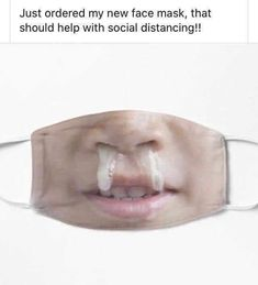 Funny Face Mask, Best Face Mask, Diy Face Mask, Face Masks, Dank Memes Funny, Funny Quotes, Funny Picture Jokes, Funny Pictures, Haha Funny