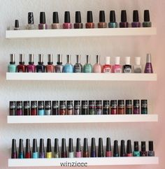 die besten 25 nagellack regal ideen auf pinterest ikea make up aufbewahrung kosmetik. Black Bedroom Furniture Sets. Home Design Ideas