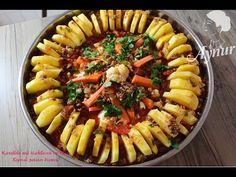 Kiymali patates dizmesi Tarifi | Köfte ve kebab Tarifleri - YouTube