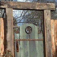 Garden gate ~ Montana style!