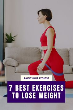The only exercises you have to do to lose weight fast. These are the Best Exercises To Lose Weight At Home Quickly - Check out these 7 best simple exercises that boosts your metabolism and helps you in shedding fat and weight at home. Lose up to 10 lbs in a month with these exercises! #weightloss #fatloss #weightlossexercise #workout Lose Weight At Home, How To Lose Weight Fast, Boost Your Metabolism, Losing 10 Pounds, You Fitness, Easy Workouts, Exercises, Fat, Weight Loss
