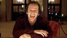 The Shining is a 1980 psychological horror film produced and directed by Stanley Kubrick with legendary Jack Nicholson in main role as Jack Torrance. Stanley Kubrick, Scary Movies, Horror Movies, Halloween Movies, Halloween Party, The Shining Film, Jack Nicholson The Shining, Jack Nicholson Gif, Big Lebowski