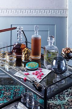 """See our web site for even more relevant information on """"gold bar cart styling"""". It is actually an outstanding place to find out more. Diy Bar Cart, Gold Bar Cart, Bar Cart Styling, Bar Cart Decor, Bar Carts, Bar Refrigerator, Home Bar Areas, Outside Bars, Metal Tree Wall Art"""