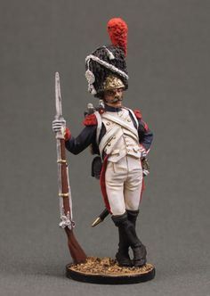 Private Grenadier Regiment of the Imperial Guard. France, 1804-15.
