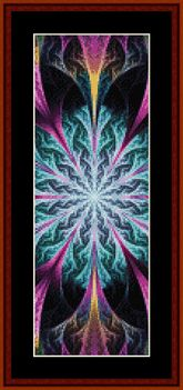 New Fractal Bookmark by Cross Stitch Collectibles
